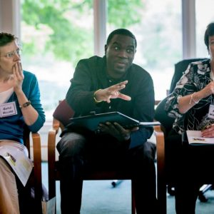 Center for Public Deliberation workshop event