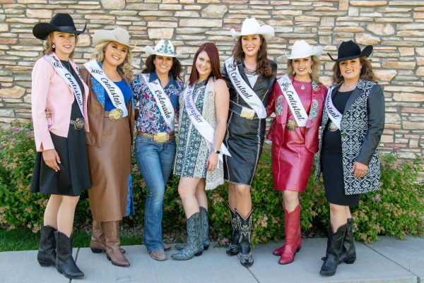 Rodeo pageant women with Chelsea Stockton