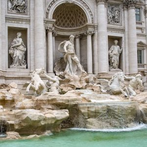 Trevi Fountain in Europe