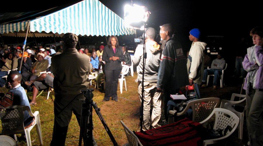 Media circus in Kenya
