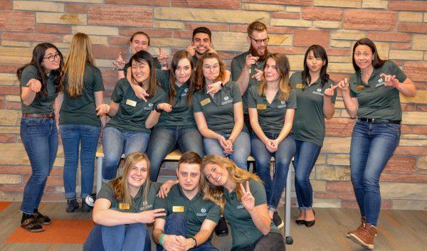 CLA Student Ambassador team