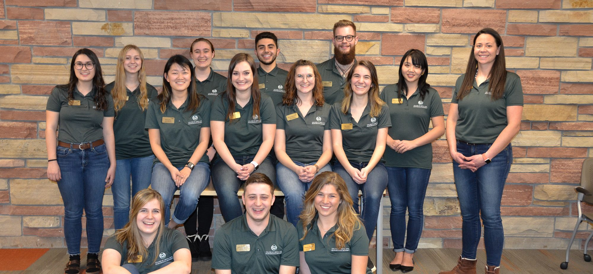 Spring 2019 College of Liberal Arts Ambassadors