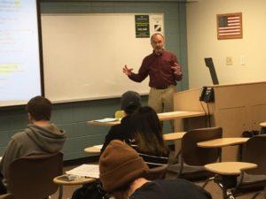Keller teaching last semester at CSU, Economic History of U.S.