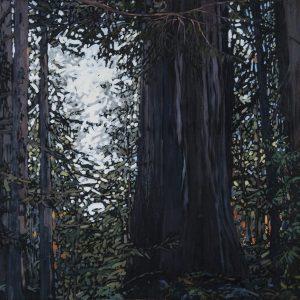 "Shining Through, Oil Painting: 30"" x 60"""