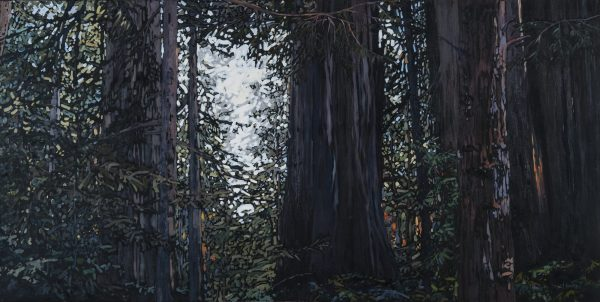 "Shining Through, Oil Painting: 30"" x 60"""