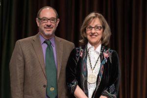 Katherine Browne and Rick Miranda
