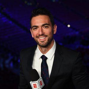 Brett Okamoto on camera for ESPN