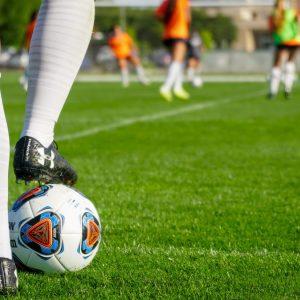 CSU Soccer women at practice