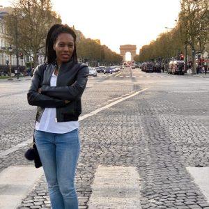 Monique Antonette Lewis in Paris