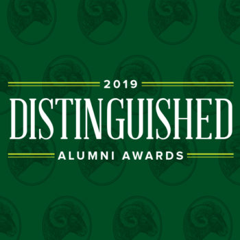 CSU 2019 Distinguished Alumni Awards poster