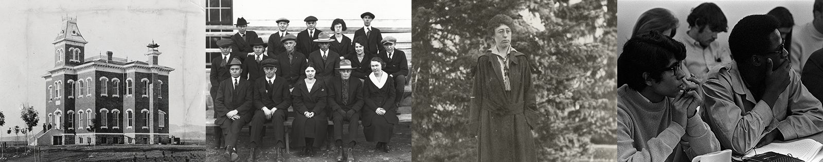 Past to Present - series of image of students circa 1900s