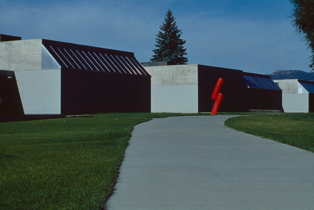 Exterior of the Visual Arts Building