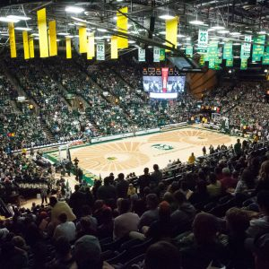 Fans pack Moby Arena at Colorado State University