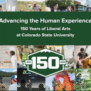 Collage image of the College of Liberal Arts at CSU, showing students and faculty engaged in learning and scholarship