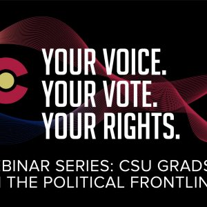 Your Voice. Your Vote. Your Rights. Webinar Series