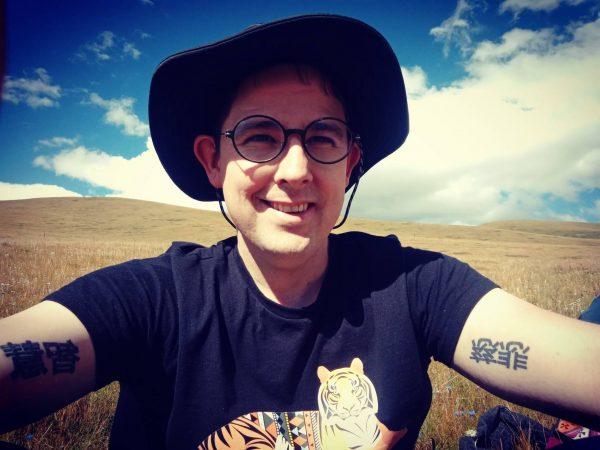 Dr. Jay Ke-Schutte selfie