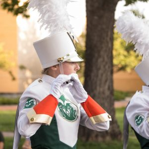 marching band student